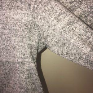 Charlotte Russe Tops - Gray Charlotte Russe Long Sleeve Crop Top